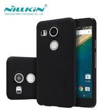 Чехол для LG Nexus 5X Nillkin матовое щит Твердый переплет LG Google Nexus 5X чехол Подарок Экран протектор