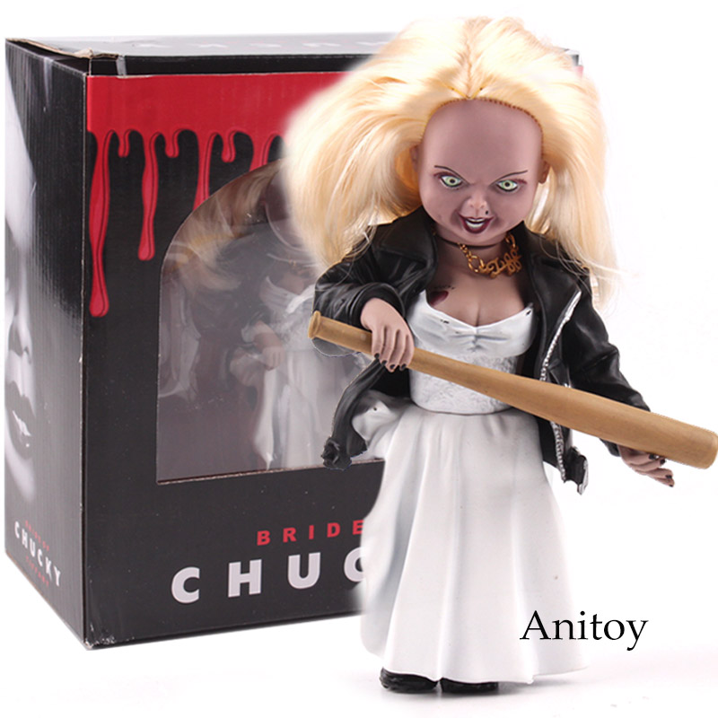 Child's Play Bride of Chucky Tiffany Toys PVC Action Figure Collectible Model Toy 15cm elsadou neca chucky action figurs child s play doll with retail box 15cm