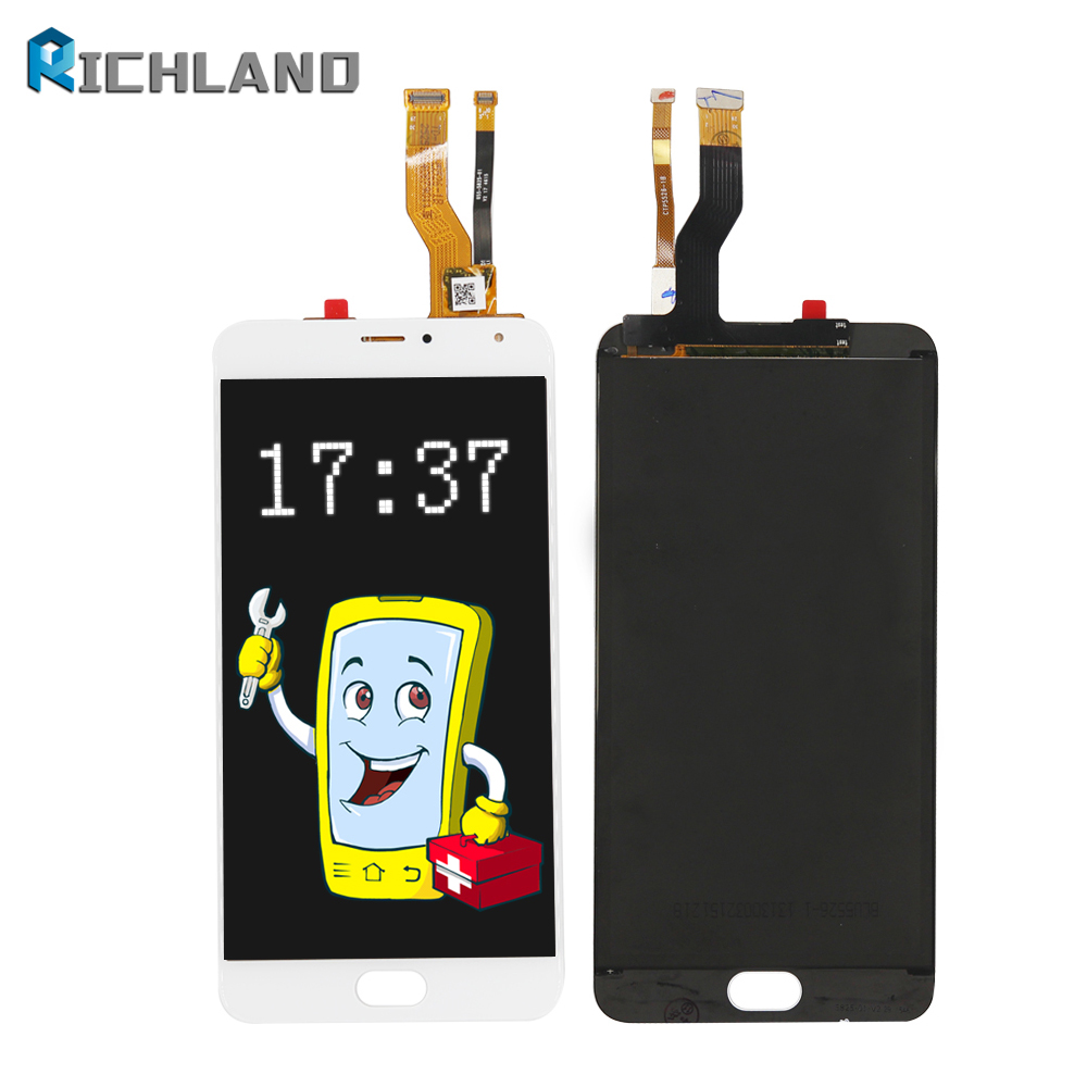 Original For Meizu M1 Metal M57AC LCD Display Touch Screen Digitizer Glass Assembly for Meilan Metal Telecom Replacement Parts