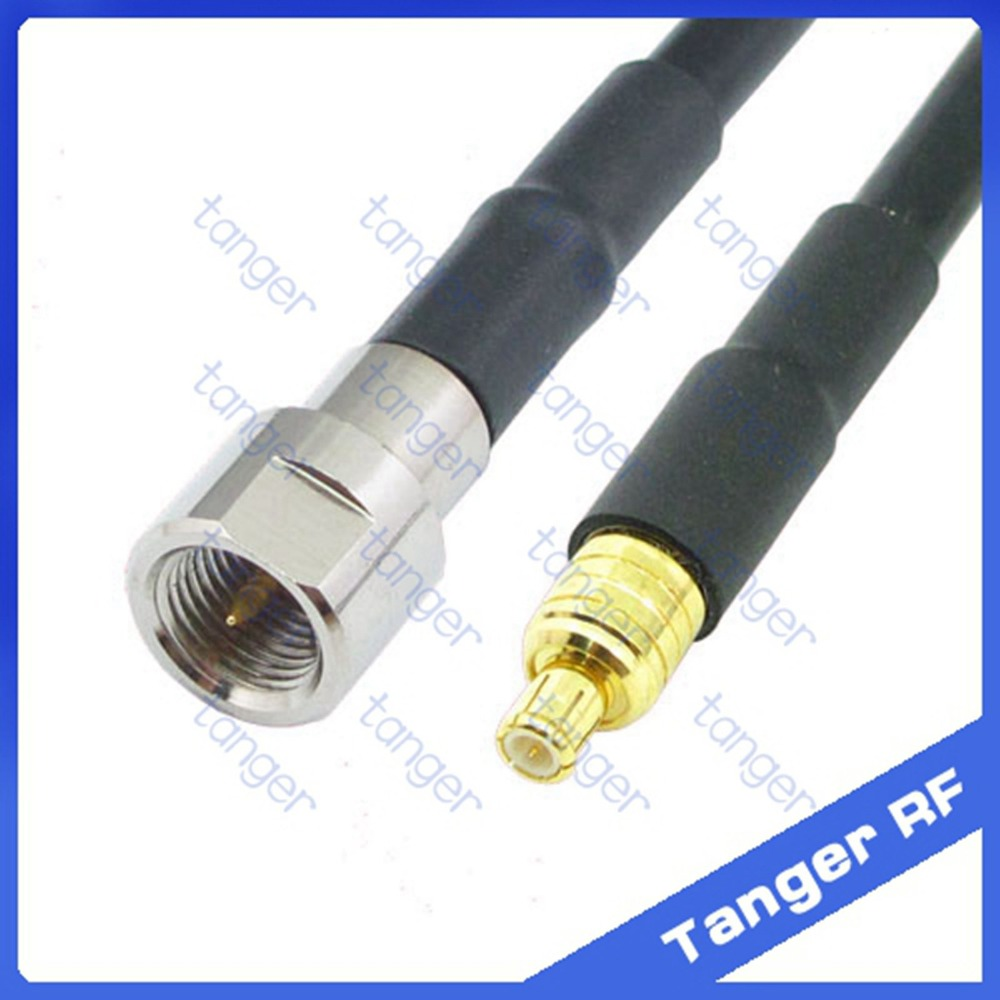 Cable RG316 8inch FME male plug to SMB male plug straight RF Pigtail Jumper