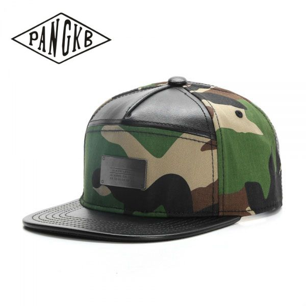 Branded Bills /'Hawaii Patriot/' Leather Patch Hat Flex Fit LG//XL//Heather Grey