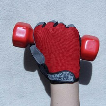 Gym Half Finger GEL Gloves for Men Women