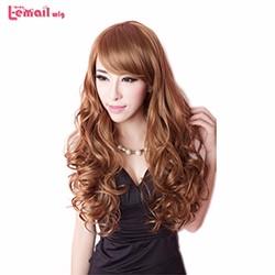Hot-Sale-Women-60cm-Black-Brown-Blonde-Fashion-Wig-Female-Wavy-Cheap-Synthetic-Hair