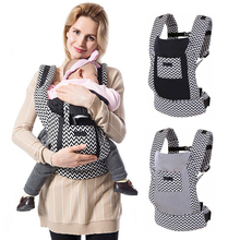 Ergonomic Baby Carrier Backpack Sling Wrap Cotton Baby Carrying Belt