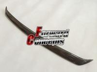 FOR CARBON FIBER 99 04 SKYLINE R34 GTT Hood Lip