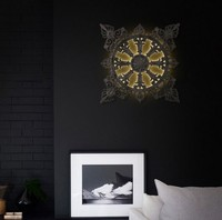 European Pattern Vintage Wall Sconce Creative Iron LED Wall Light Fixtures For Home Lighting Bedside Wall