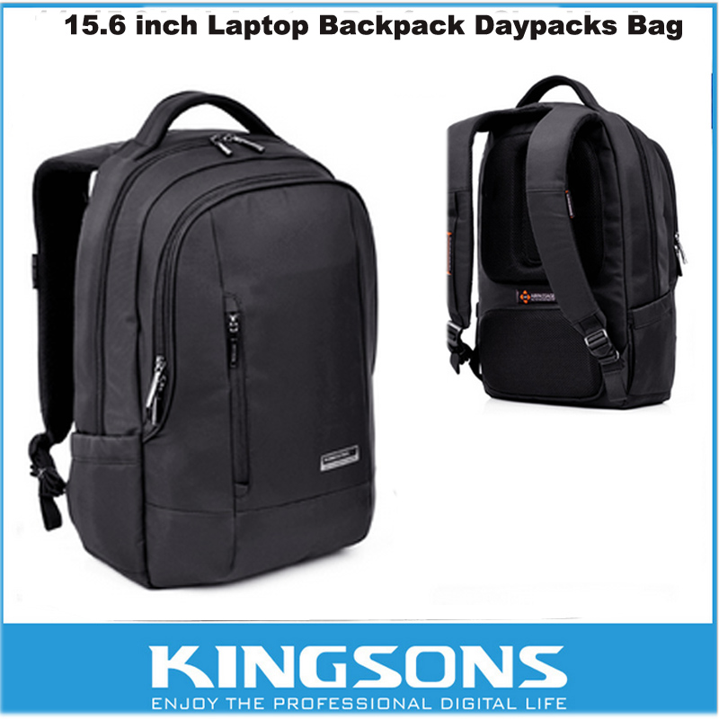Kingsons Laptop Backpack 15.6 Inch Nylon Business Bag Waterproof Multi-Compartment For iPad Pro Macbook/Asus/Lenovo/HP/Sony