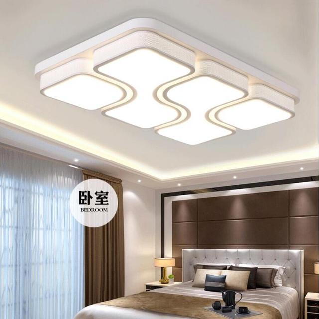 Neue High Power Led Deckenleuchten Wohnzimmer Led Lampen Eisen Helle