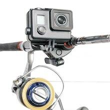 Fishing Rod Bow Arrow Sportsman Mount Selfie Monopod Base for GoPro Hero 4/ 3+/ 3/ 2 Sport Camera New Promotion