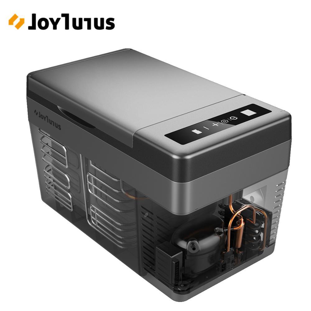 Car Portable Cooler 25L Fridge Auto Compressor Freezer 12V 24V For Car RV Vehicle Home Use Picnic Camping Refrigerator