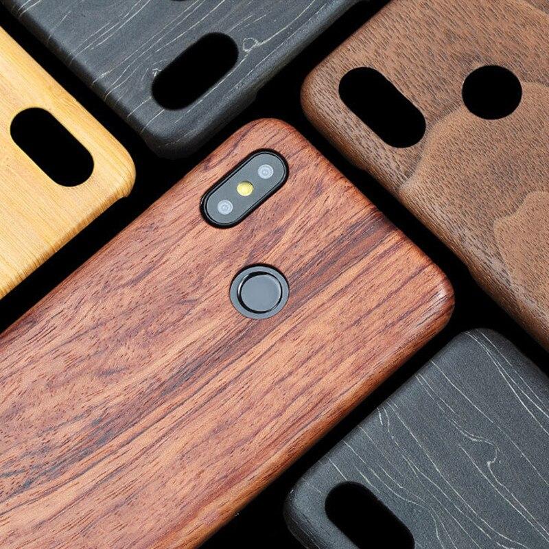 Para xiao mi 8/8 se/mi x 2/mi x 2 s/mi x 3/mi 9/9 t/k20 pro nogueira enony madeira de bambu rosewood mogno de madeira volta caso capa