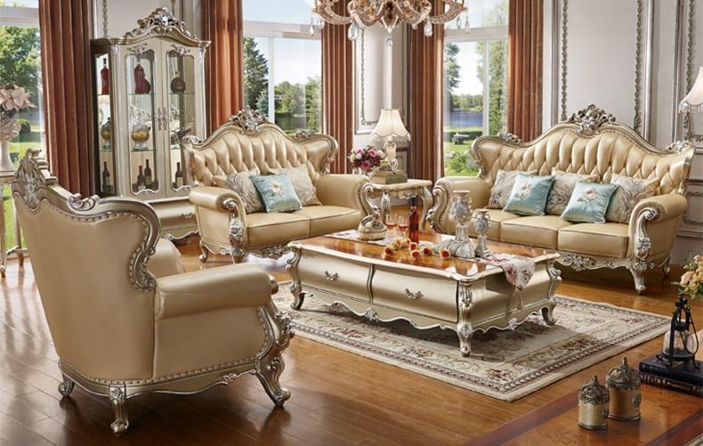 Luxury Living Room Furniture Classic European Sofa Set Living Room Sets  - AliExpress