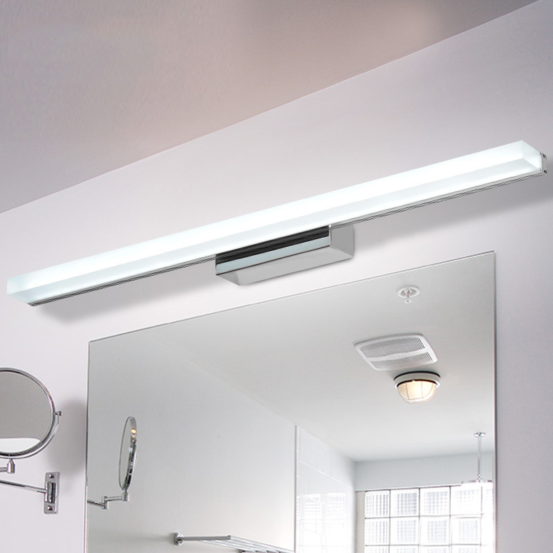 Longer LED vanity light for bathroom makeup mirror light bulb AC90 260V makeup tables waterproof hollywood vanity decor lighting