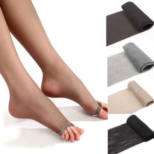 1Pc Strong Breathability Tights Pantyhose Sexy Fashion Core Silk Womens Stocking Open Toes Tight Top Sale