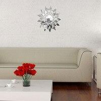 Yeni Moda Romantik Güneş çiçek Modern tasarım 3D iç Dekorasyon Oturma Odası Duvar Çıkartmaları