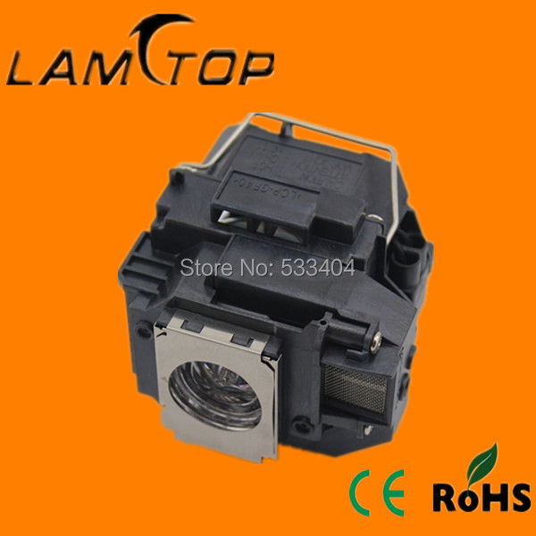 Free shipping   LAMTOP  Projector lamp with cage/housing  for  EB-S10