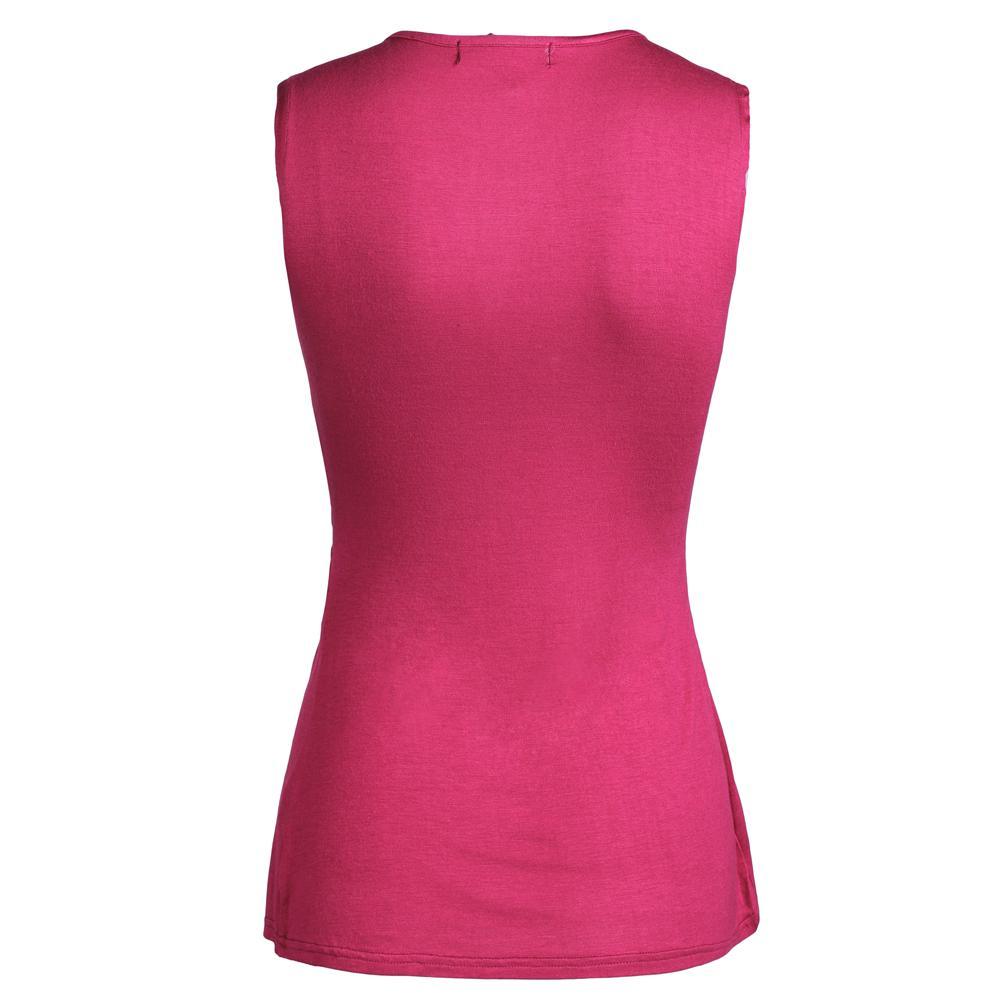 HTB1d9tGLXXXXXamaXXXq6xXFXXXV - Summer Blouses Women Shirt Sleeveless V Neck