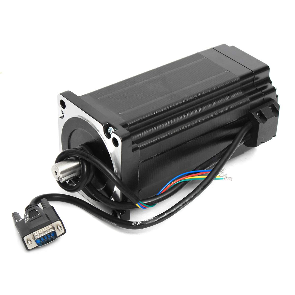 NEMA34 12N.m 6A Closed Loop CNC Stepper Motor Encoder HBS86H Hybrid Servo Driver