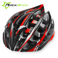 ROCKBROS 36 Vents Ultralight MTB Mountain Road Bike Bicycle Helmet Riding Cycling Helmet With Visor 57