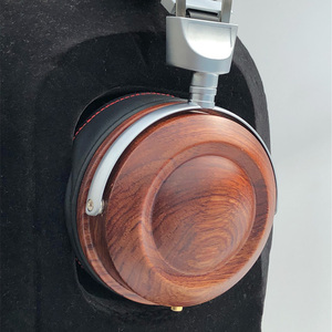 Image 1 - HiFi Headphone Case Over Ear Headphone Wooden Case Shell DIY Bluetooth Headphone Case Cover 40MM 50MM 53MM