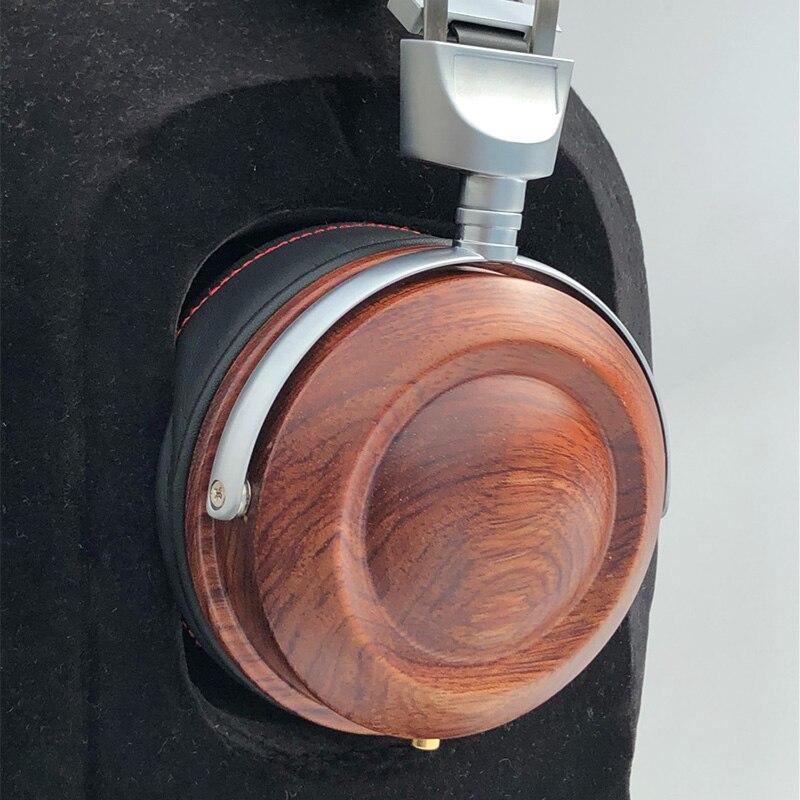 HiFi casque d'écoute sur l'oreille casque en bois coque bricolage Bluetooth casque housse 40 MM 50 MM 53 MM