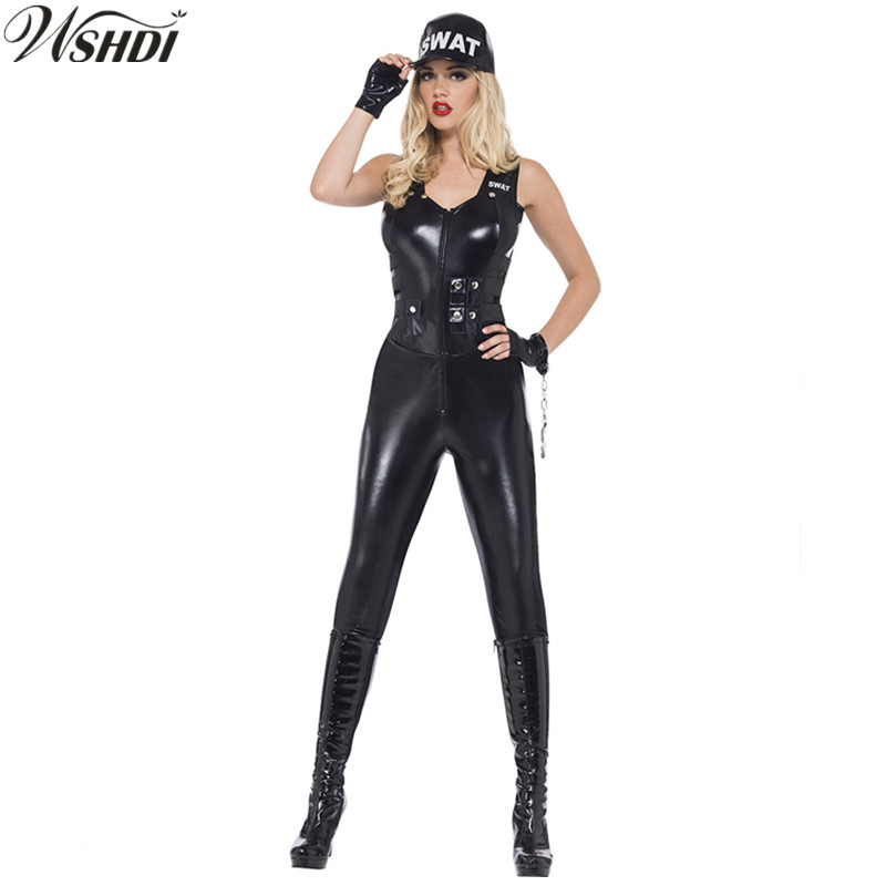 7a0522a9296 Umorden Halloween Adult Female Police Costumes Police Woman Cop ...