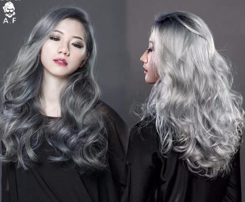 Aliexpress.com : Buy 1PC granma grey hair color 100ml CREAM GRAY ...