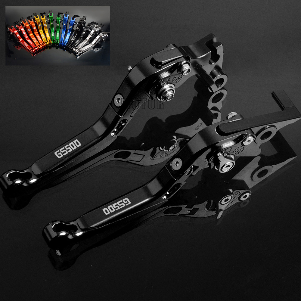 Motorcycle Brake Clutch Levers For SUZUKI GS 500 GS500 1989-2008 CNC Accessories Parts Adjustable Folding Brake Clutch Levers sale for bmw k1200r sport k1200s motorcycle adjustable folding extending cnc pivot brake clutch levers aluminum moto accessory