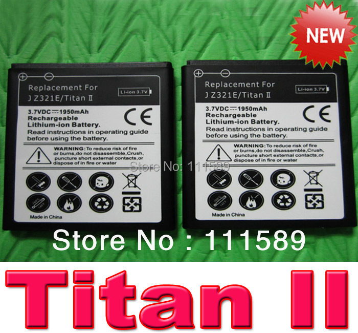 Brand New 1950mAh Replacement Battery for HTC J Titan II / Z321e mobile phone with Tracking Number 10pcs/lot