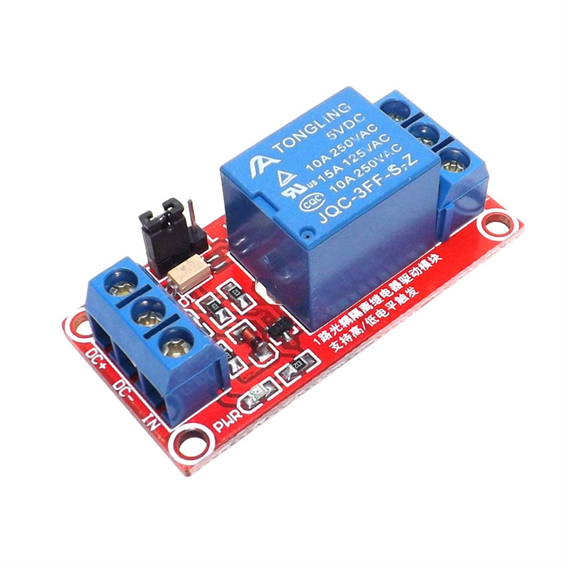 цена на one 1 channel relay module 5V 12V 24V high and low level trigger relay control with optocoupler