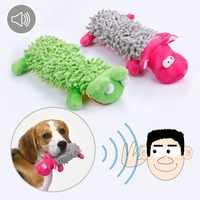 Quietschen Hund Spielzeug Gefüllte Plüsch Spielen Spielzeug für Kleine Hunde Kauen Squeaker Pet Zubehör Quietschende Spielzeug Pet Liefert 3d30