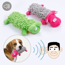 Squeaking Dog Toy Stuffed Plush Playing Toys for Small Dogs Chew Squeaker Pet Accessories Squeaky Toys Pet Supplies 3d30