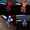 1 UNID Car Styling oso Violent Superman Lindo Divertido etiqueta engomada del coche calcomanía para puerta Del Coche anticolisión de Protección interior accesorios