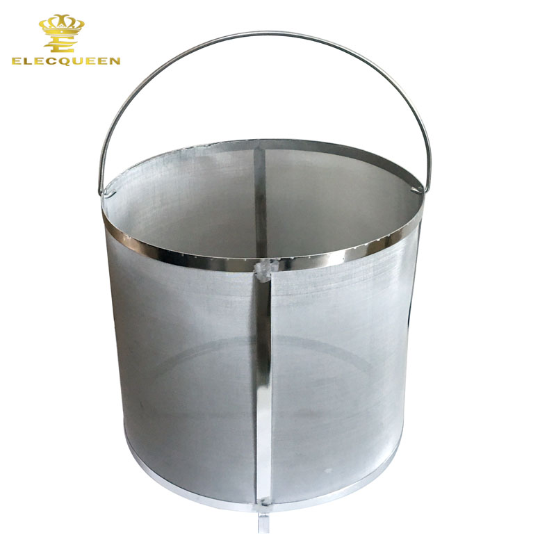 Homebrew hop filter stainless steel strainer pot mesh