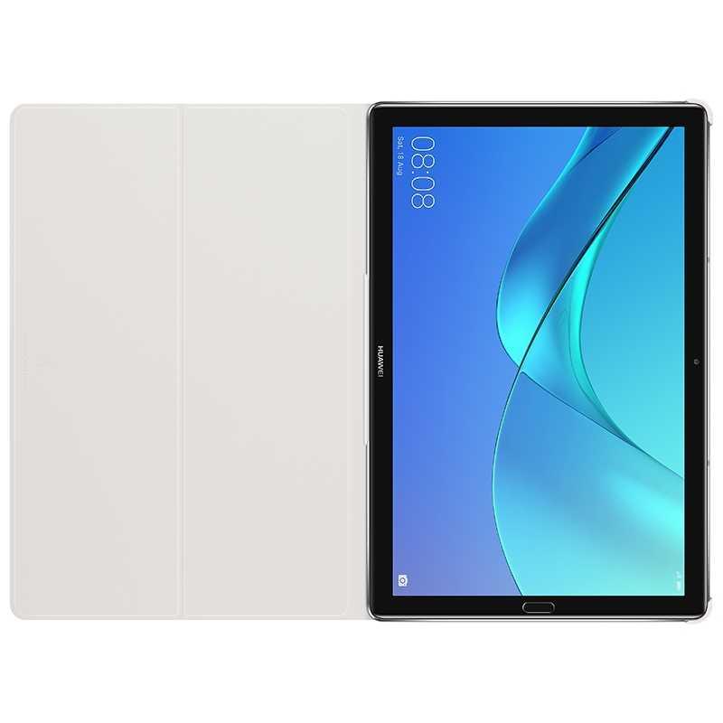 هواوي M5 برو حالة مسؤول الأصلي الذكية الرؤية هواوي Mediapad M5 غطاء Kickstand جلد الوجه M5 حالة قرص غطاء 8.4 10.8