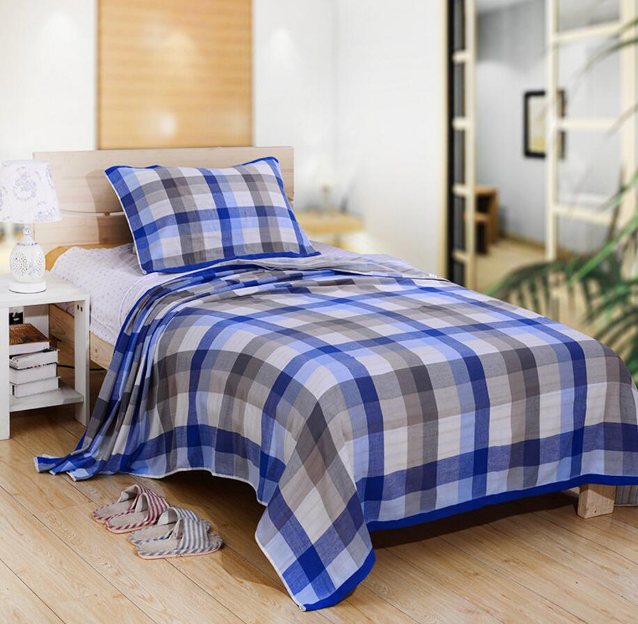 towel blanket picture  more detailed picture about cotton summer  - cotton summer autumn towel blanket on the bed ecofriendly bedding plaidsofa quilt office
