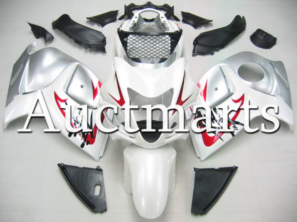 Fit for Suzuki Hayabusa GSX1300R 2008 2009 2010 2011 2012 2013 2014 ABS Plastic motorcycle Fairing Kit GSX1300R 08-14 CB05 chrome spike full fairing bolt kit nut screw for suzuki gsx r1300 hayabusa 2008 2009 2010 2011 2012 2013 2014
