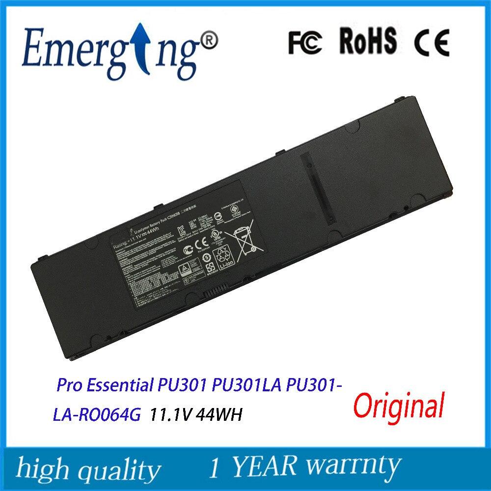 11.1V 44WH Original New Laptop Battery C31N1318 for ASUS Pro Essential PU301 PU301LA PU301LA-RO064G original laptop batteries for t410s t400s battery 59 42t4832 42t4689 battery 44wh