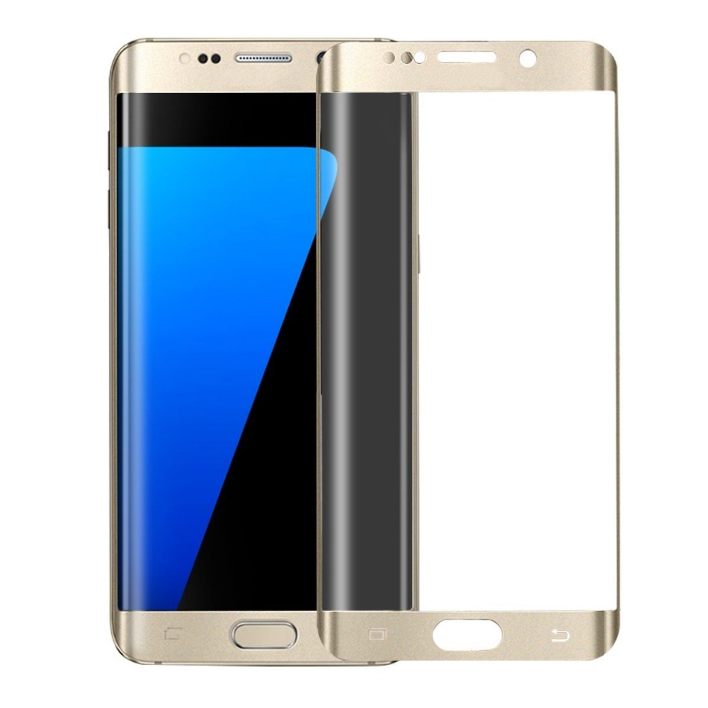 safety 3d arc 9h tempered glass film for samsung galaxy s6 edge plus full cover screen. Black Bedroom Furniture Sets. Home Design Ideas