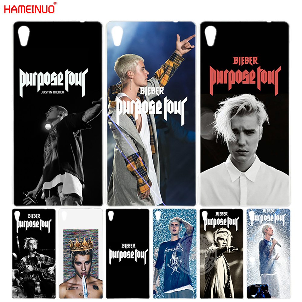 Aggressive Hameinuo Justin Bieber Purpose Tour Cover Phone Case For Sony Xperia C6 Xa1 Xa Ultra X Xp L1 X Compact Xr/xz/xzs Premium Quality First Cellphones & Telecommunications