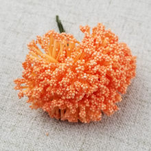 12pcs/lot Foam Chives Flower Artificial Flowers Handmade DIY Wedding Box Decoration Festive & Party Supplies Wedding Decoration(China)