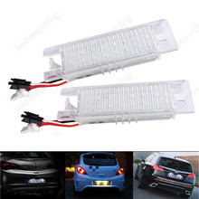LED Licence Number Plate Light Vauxhall Opel Astra H J Corsa C D Insignia Meriva (Fits: More than one vehicle)(CA216)