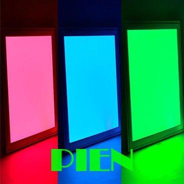 300x300 mm RGB Ceiling light Square flat led panel lamp 2.4G wireless 85V-265V+RGB Controller+ WIFI Hub  CE&ROHS by DHL 10pcs 18w dual led ceiling lamp 140 270mm ce