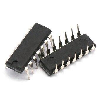 5 pçs/lote ir2110 ir2110pbf dip14 mosfet/igbt driver chip alta baixa 100% novo original