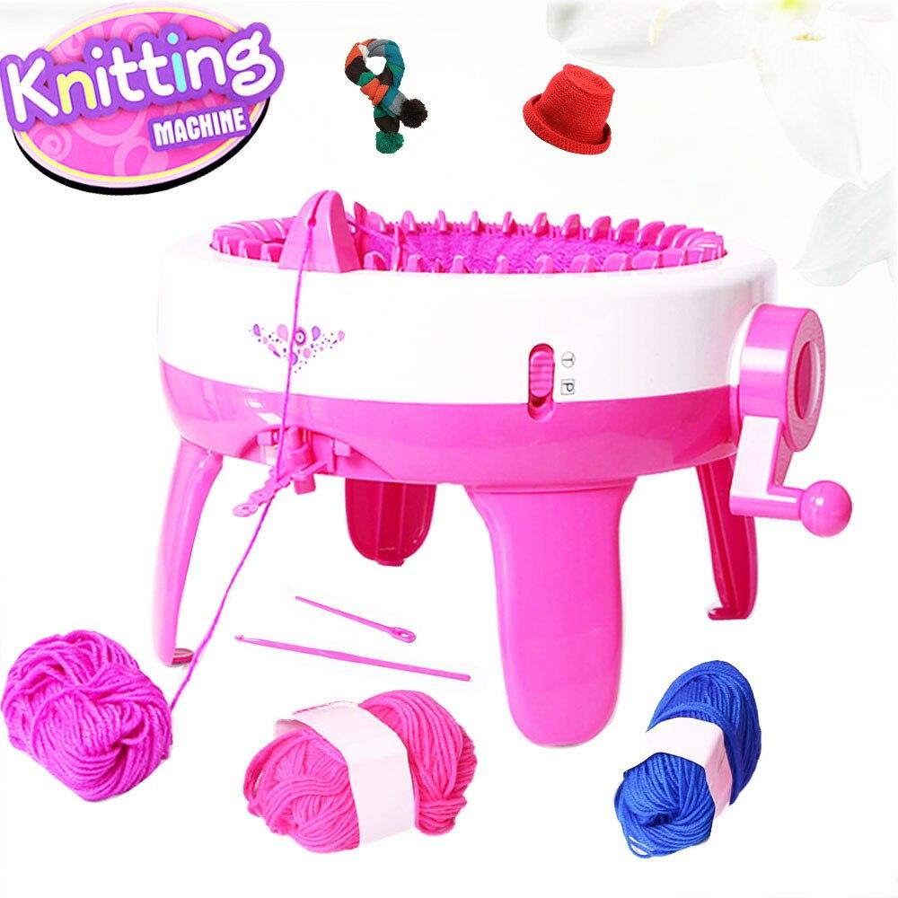 Knitting Machine Diy : Needles children knitting machine big hand weaving loom