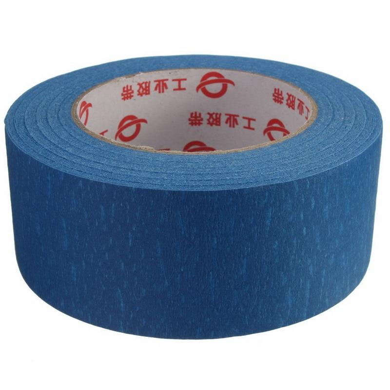 Printer Blue Masking Tape 50mm Wide 50m Reprap Bed Tape Painters Masking