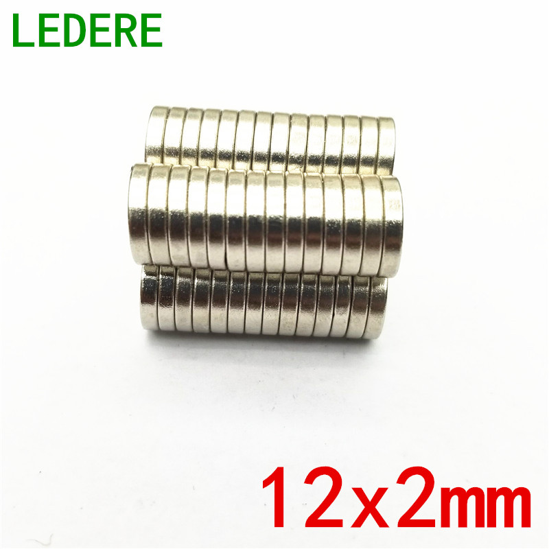 10/50/100PCS 12mm x 2mm Super Strong Round Disc Magnets 12*2 12x2 Rare Earth Neodymium Magnet N52 12mm*2mm 12x2mm 12*2mm super strong rare earth re magnets 20mm x 2mm 10 pack