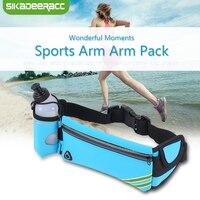 JK40 With Water Bottle Sports Waist Belt Cases For Samsung Galaxy S7 Edge S8 Running Gym