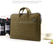 2016 New Laptop Sleeve Bag Case Carrying Handle Bag For 15 15.4 15.6 Inch Apple Dell Notebook Netbook PC
