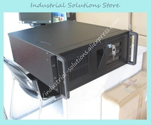 New Top TOP-4U5012D Industrial Computer Case Server Computer Case Black 12 Plate